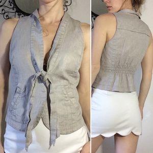 Armani Exchange Slate Grey Vest